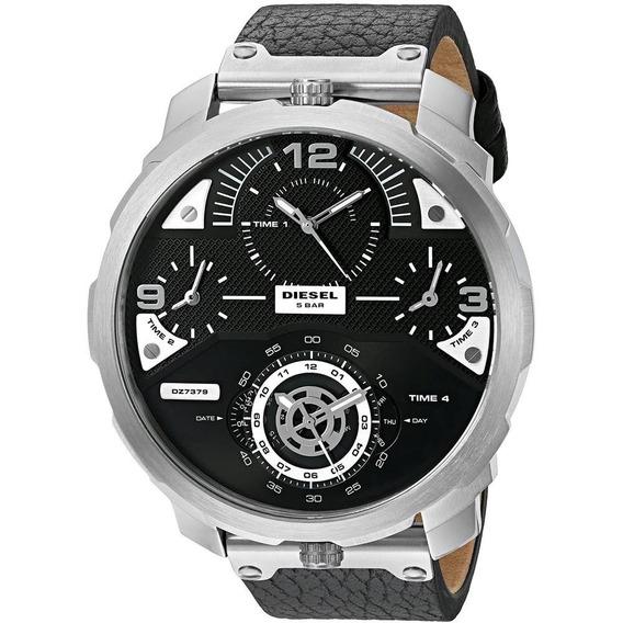 Relógio Diesel Dz7379 Timeframe Original Black