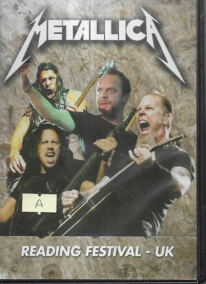 Metallica - Reading Festival Uk - Dvd - E