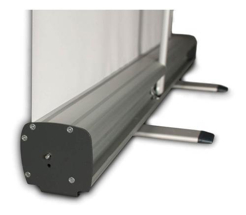 Porta Banner Roll Up 85x200cm Aluminio Portabanner Rollup