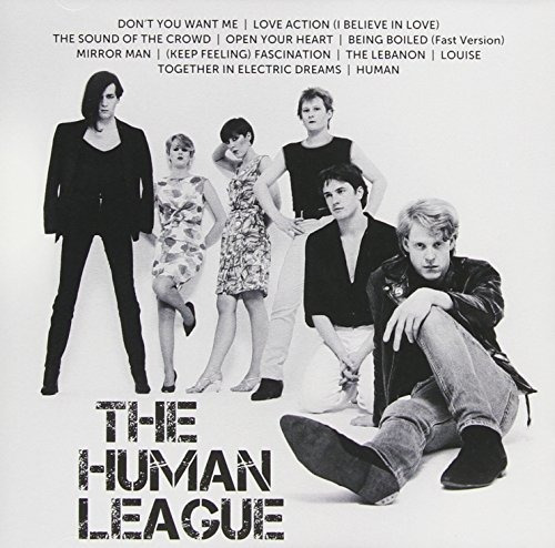 Cd : The Human League - Icon (icon Title)