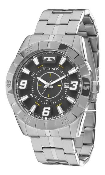 Relógio Masculino Technos 2115kyx/1p Nf-e Últimas Peças