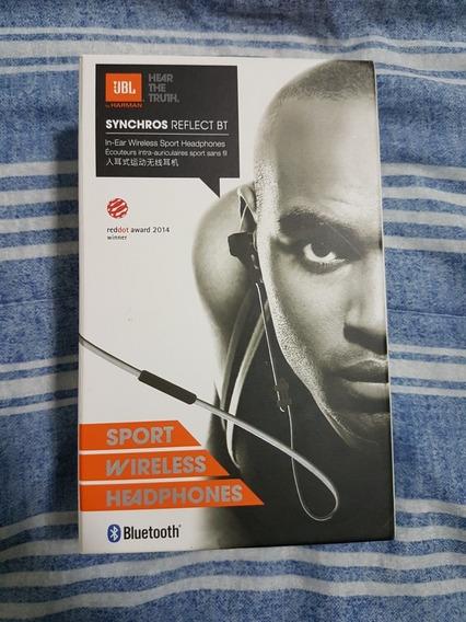 Fone Jbl Synchros Reflect Bt Sport Wireless Headphones