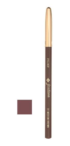 Lápis 5 Para Olhos Jordana - 31 - Medium Brown