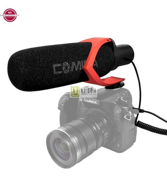 Mic Shotgun P/câmera,fimadora-sony,canon,nikon-top !