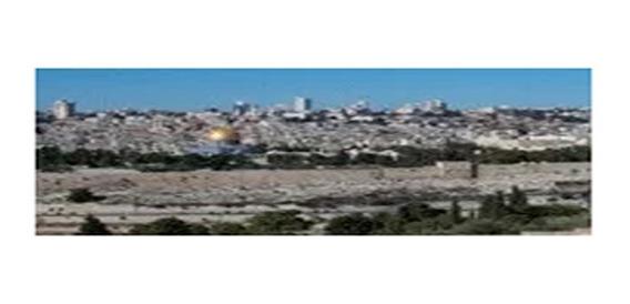 Póster De La Ciudad De Jerusalém Vista Desde Los Olivos