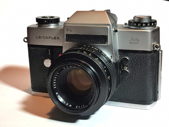 Leicaflex Sl, Com Summicron 50mm