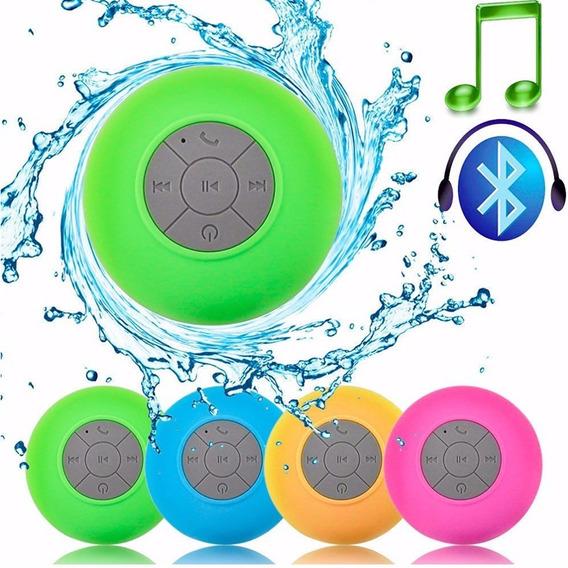 Caixas Som Banheiro Prova Dágua Bluetooth Envio Imediato