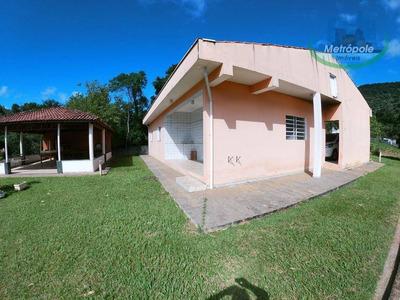 Chácara Com 3 Dormitórios À Venda, 4000 M² Por R$ 450.000 - Cuiabá - Nazaré Paulista/sp - Ch0019