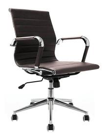 Cadeira Gerente Roma Marrom