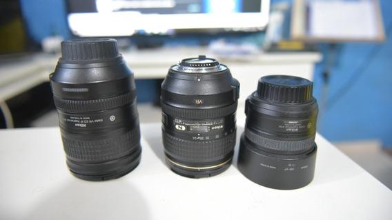 Pack Com 3 Lentes Nikon