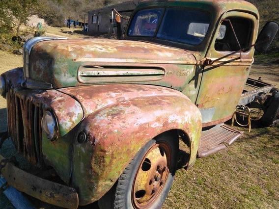 Cabina Y Trompa Completa Ford 1946