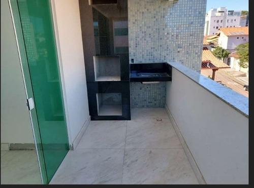 Apartamento 04 Quartos No Bairro Castelo. - 3809