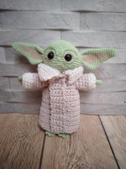 Yoda Peluche Amigurumi Star Wars