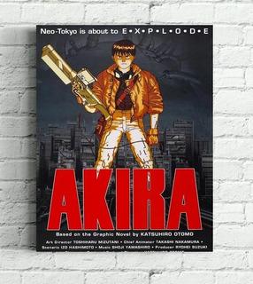 Poster Quadro Akira Impressão Em Canvas
