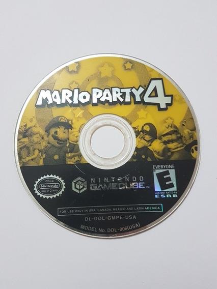 Mario Party 4 Original Para Nintendo Game Cube