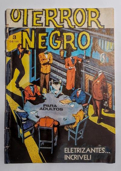 O Terror Negro N.º3 Ed. Gráfica Trieste 1973 - Frete Grátis