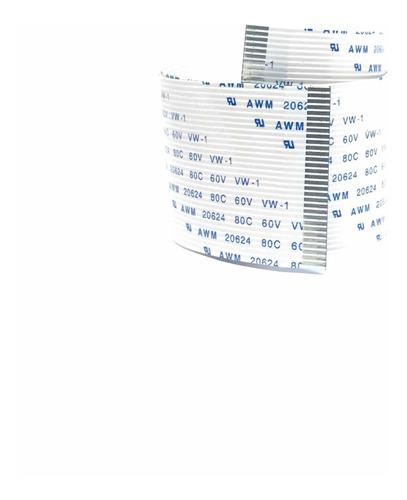 Imagen 1 de 4 de Cable Flex Membrana 31 Pines 30cm A W M