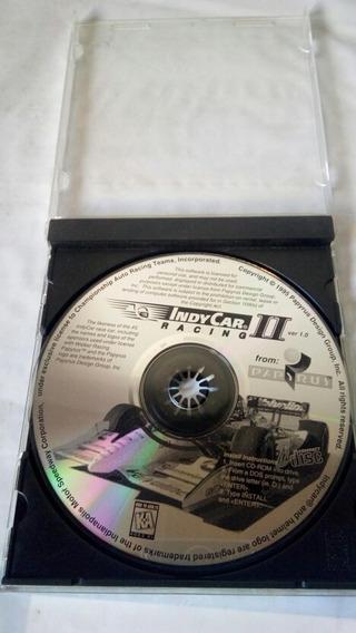 Juego Computadora En Cd Original Sin Tapa Indy Car Ii
