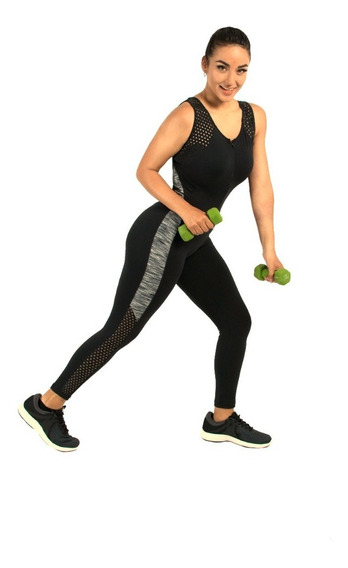 Jumpsuit Deportivo Enterizo Mujer Gym Gimnasio Fitness