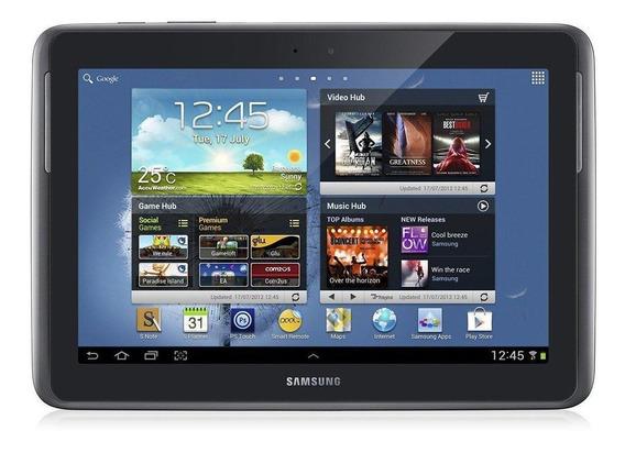 "Tablet Samsung Galaxy Note 2012 GT-N8000 10.1"" 16GB preto com memória RAM 2GB"