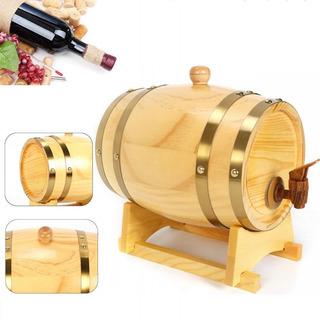 Barril De 5l Madera Roble Vino Whisky Licores Ron