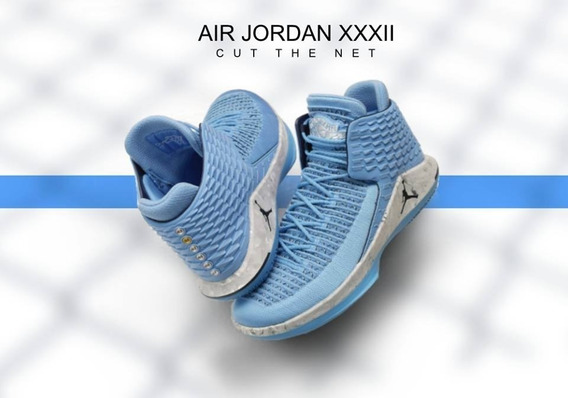 Air Jordan 32 Unc Cut The Net Limited Michael Jordan