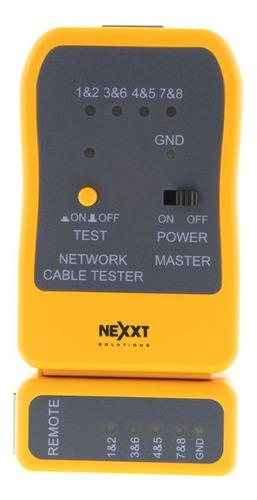 Imagen 1 de 3 de Probador De Cable Nexxt /  Lan Tester