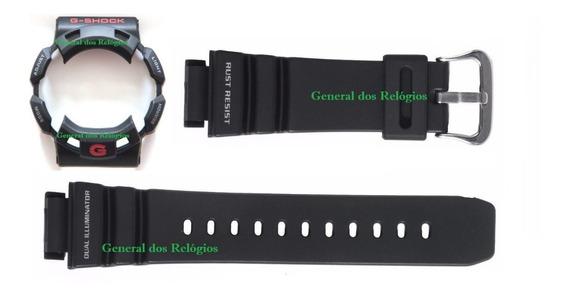 Pulseira + Bezel Casio G-shock G-9100 Gulfman Preto Original