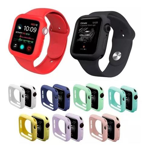 Kit Case + Pulseira Silicone App Smart Watch + Película E076