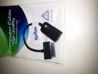 Cable Tablet Samsung A Hembra Usb Otg Nisuta