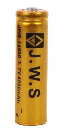 Bateria Recarregável J.w.s 14500 - 3,7v 4800 Mah - Unitária