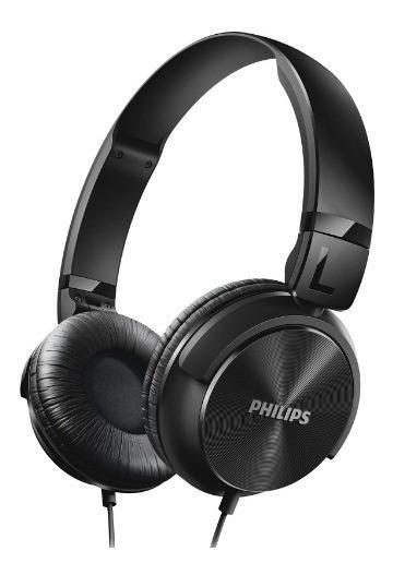 Fone De Ouvido Dinâmico Preto- Philips