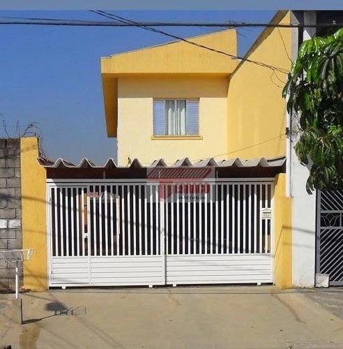 Sobrado Com 3 Dormitórios À Venda, 150 M² Por R$ 365.000,00 - Jardim Alzira Franco - Santo André/sp - So0897