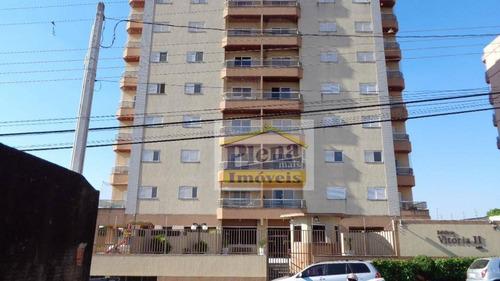 Imagem 1 de 18 de Apartamento  Residencial À Venda, Vila Menuzzo, Sumaré. - Ap0497