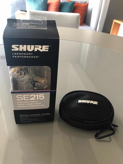 Fone In Ear Shure Se215 Original