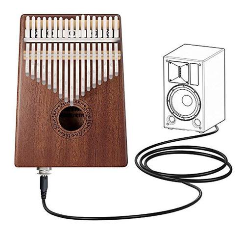 Kalimba 17 Llave Dedo Pulgar Piano Instrumentos Musicales