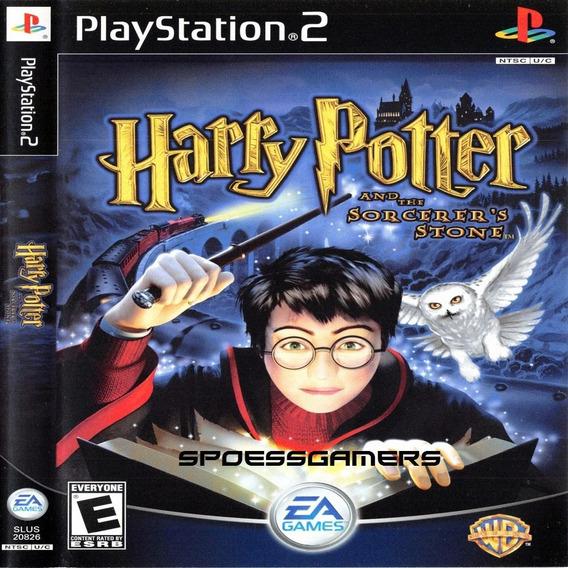 Harry Potter E A Pedra Filosofal Ps2 Desbloqueado Patch