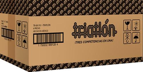 Triatlón (caja Con 6 Piezas)