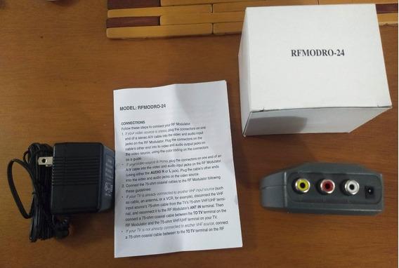 Convertidor Modulador Rf Adaptador Para Tv Directv Movistar