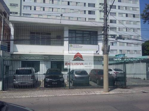 Prédio Para Alugar, 456 M² Por R$ 10.000,00/mês - Centro - São José Dos Campos/sp - Pr0006