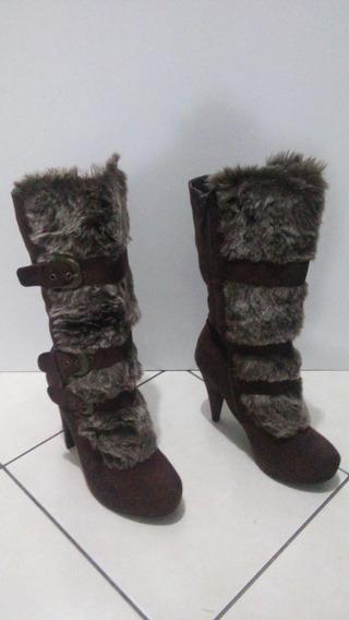 Zapatos Mujer Botas . Talla 26 Cm. Nuevos