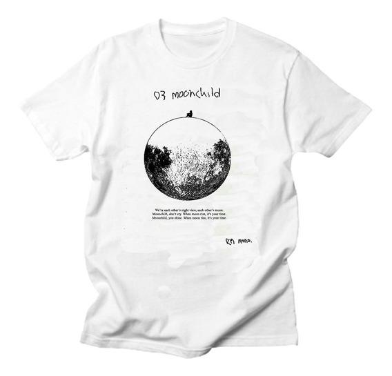 Moonchild Rap Monster - Remera Bts - Unisex Kpop Hip Hop
