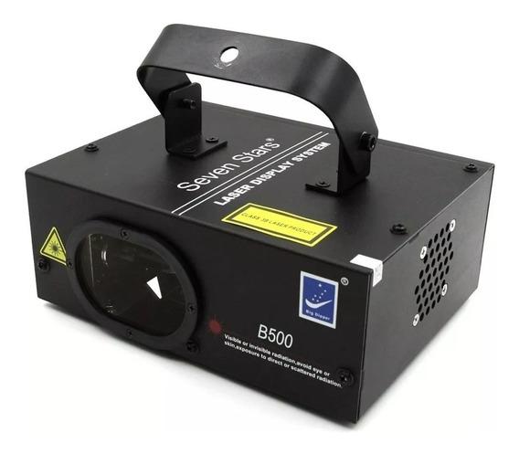 Laser Azul B-500 500mw Dmx Sensor Batida Strobo Bivolt