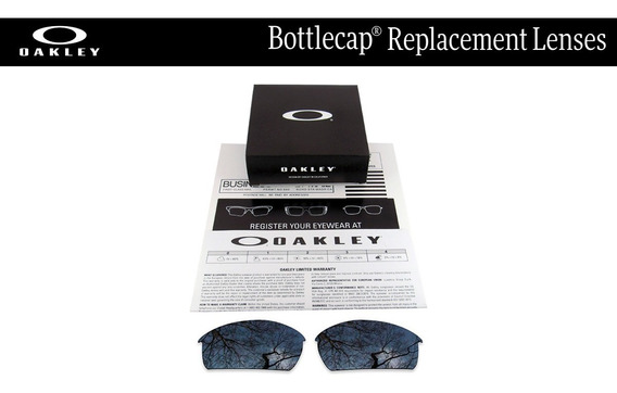 Micas De Reemplazo Para Oakley Bottlecap Color Black Iridium