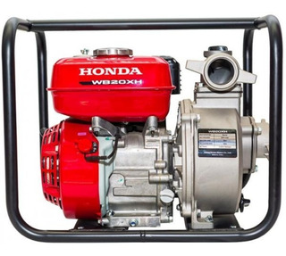 Motobomba Honda Wb20xh 36000 L/h 3.5 Hp Aguas Limpias Honda
