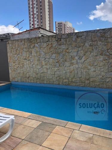 Apartamento A Venda No Bairro Fundação Em São Caetano Do - 890-1