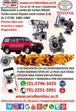 Reparación De Turbo Toyota Land Cruiser 2.4 2l Ct20 Diesel
