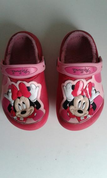 Crocs Disney Originales Con Piel Talle 27