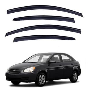 Aletas Bota Aguas Hyundai Accent 2005-2012 Lluvia Karvas