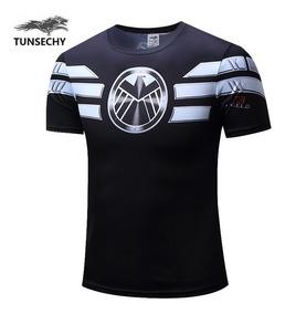 Camisa Camiseta Pronta Entrega Fantasia Shield